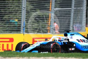 World © Octane Photographic Ltd. Formula 1 – Australian GP Practice 1. ROKiT Williams Racing – George Russell. Friday 15th Melbourne, Australia. Friday 15th March 2019.