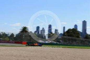 World © Octane Photographic Ltd. Formula 1 – Australian GP Practice 1. McLaren MCL34 – Carlos Sainz. Friday 15th Melbourne, Australia. Friday 15th March 2019.