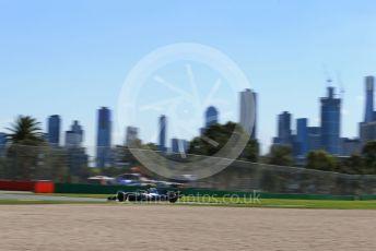 World © Octane Photographic Ltd. Formula 1 – Australian GP Practice 1. Mercedes AMG Petronas Motorsport AMG F1 W10 EQ Power+ - Lewis Hamilton. Friday 15th Melbourne, Australia. Friday 15th March 2019.