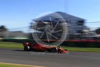 World © Octane Photographic Ltd. Formula 1 – Australian GP Practice 2. Scuderia Ferrari SF90 – Sebastian Vettel. Friday 15th Melbourne, Australia. Friday 15th March 2019.