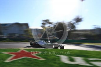 World © Octane Photographic Ltd. Formula 1 – Australian GP Practice 2. Mercedes AMG Petronas Motorsport AMG F1 W10 EQ Power+ - Valtteri Bottas. Friday 15th Melbourne, Australia. Friday 15th March 2019.