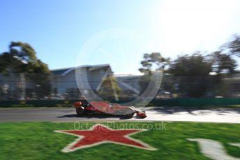 World © Octane Photographic Ltd. Formula 1 – Australian GP Practice 2. Scuderia Ferrari SF90 – Sebastian Vettel. Friday 15th Melbourne, Australia. Friday 15th March 2019.