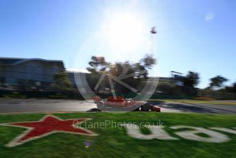 World © Octane Photographic Ltd. Formula 1 – Australian GP Practice 2. Scuderia Ferrari SF90 – Charles Leclerc. Friday 15th Melbourne, Australia. Friday 15th March 2019.