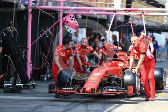 World © Octane Photographic Ltd. Formula 1 – Australian GP Practice 3. Scuderia Ferrari SF90 – Sebastian Vettel. Saturday 16th Melbourne, Australia. Saturday 16th March 2019.
