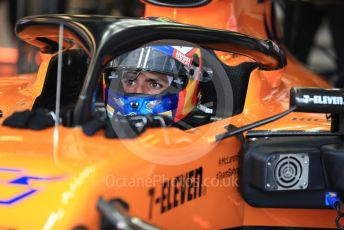 World © Octane Photographic Ltd. Formula 1 – Australian GP Practice 3. McLaren MCL34 – Carlos Sainz. Saturday 16th Melbourne, Australia. Saturday 16th March 2019.