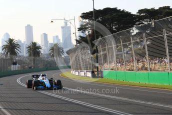 World © Octane Photographic Ltd. Formula 1 – Australian GP Qualifying. ROKiT Williams Racing – Robert Kubica. Melbourne, Australia. Saturday 16th March 2019.