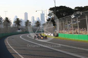 World © Octane Photographic Ltd. Formula 1 – Australian GP Qualifying. Aston Martin Red Bull Racing RB15 – Max Verstappen. Melbourne, Australia. Saturday 16th March 2019.