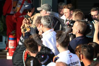 World © Octane Photographic Ltd. Formula 1 – Australian GP Parc Ferme. Aston Martin Red Bull Racing RB15 – Max Verstappen. Melbourne, Australia. Sunday 17th March 2019.