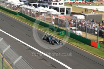 World © Octane Photographic Ltd. Formula 1 – Australian GP Race. Mercedes AMG Petronas Motorsport AMG F1 W10 EQ Power+ - Lewis Hamilton. Melbourne, Australia. Sunday 17th March 2019.