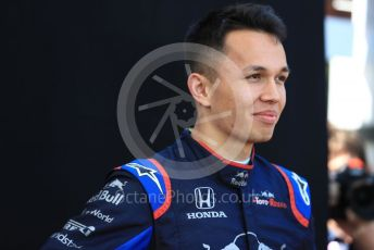 World © Octane Photographic Ltd. Formula 1 – Australian GP FIA Driver photo call. Scuderia Toro Rosso STR14 – Alexander Albon. Thursday 14th Melbourne, Australia. Thursday 14th March 2019.