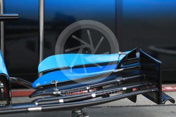 World © Octane Photographic Ltd. Formula 1 – Australian GP Pitlane. ROKiT Williams Racing – front wing. Friday 15th Melbourne, Australia. Friday 15th March 2019.