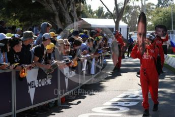 World © Octane Photographic Ltd. Formula 1 - Australian GP - Wednesday - Paddock. Melbourne Walk crew. Albert Park, Melbourne, Australia. Saturday 16th March 2019