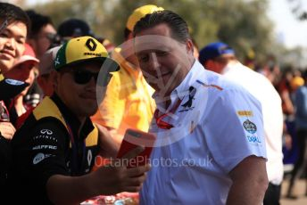 World © Octane Photographic Ltd. Formula 1 - Australian GP - Melbourne Walk. Zak Brown - Executive Director of McLaren Technology Group.  Albert Park, Melbourne, Australia. Sunday 17th March 2019