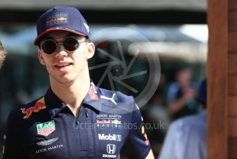 World © Octane Photographic Ltd. Formula 1 – Australian GP Paddock. Aston Martin Red Bull Racing RB15 – Pierre Gasly. Melbourne, Australia. Sunday 17th March 2019.