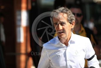 World © Octane Photographic Ltd. Formula 1 - Australian GP - Paddock. Alain Prost – Special Advisor to Renault Sport Formula 1 Team. Albert Park, Melbourne, Australia. Sunday 17th March 2019