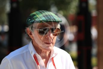 World © Octane Photographic Ltd. Formula 1 - Australian GP - Paddock. Sir Jackie Stewart. Albert Park, Melbourne, Australia. Sunday 17th March 2019