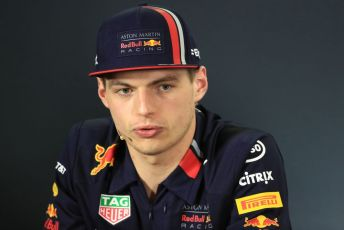 World © Octane Photographic Ltd. Formula 1 - Australian GP Thursday FIA Driver Press Conference. Aston Martin Red Bull Racing RB15 – Max Verstappen. Thursday 14th Melbourne, Australia. Thursday 14th March 2019