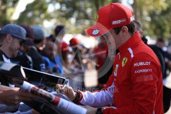 World © Octane Photographic Ltd. Formula 1 – Australian GP. Scuderia Ferrari SF90 – Charles Leclerc. Thursday 14th Melbourne, Australia. Thursday 14th March 2019.