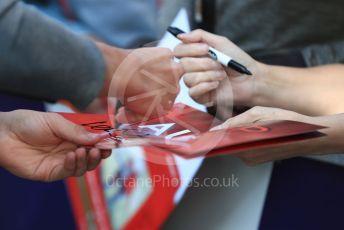 World © Octane Photographic Ltd. Formula 1 – Australian GP fans getting autographs. Thursday 14th Melbourne, Australia. Thursday 14th March 2019.
