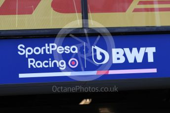 World © Octane Photographic Ltd. Formula 1 – Australian GP. SportPesa Racing Point RP19. Albert Park, Melbourne, Australia. Wednesday 13th March 2019.