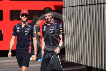 World © Octane Photographic Ltd. Formula 1 – Austrian GP - Paddock. Aston Martin Red Bull Racing RB15 – Pierre Gasly. Red Bull Ring, Spielberg, Styria, Austria. Friday 28th June 2019.
