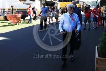 World © Octane Photographic Ltd. Formula 1 – Austrian GP - Paddock. Bernie Ecclestone. Red Bull Ring, Spielberg, Styria, Austria. Saturday 29th June 2019.
