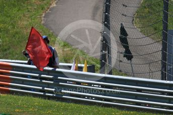 World © Octane Photographic Ltd. Formula 1 – Austrian GP - Practice 2. Red Flag. Red Bull Ring, Spielberg, Styria, Austria. Friday 28th June 2019.