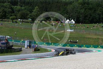World © Octane Photographic Ltd. Formula 1 – Austrian GP - Practice 2. Renault Sport F1 Team RS19 – Daniel Ricciardo. Red Bull Ring, Spielberg, Styria, Austria. Friday 28th June 2019.