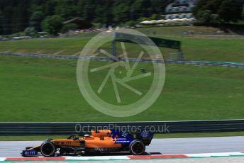 World © Octane Photographic Ltd. Formula 1 – Austrian GP - Practice 2. McLaren MCL34 – Carlos Sainz. Red Bull Ring, Spielberg, Styria, Austria. Friday 28th June 2019.