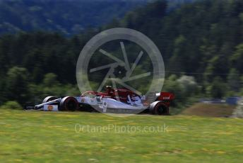 World © Octane Photographic Ltd. Formula 1 – Austrian GP - Practice 2. Alfa Romeo Racing C38 – Antonio Giovinazzi. Red Bull Ring, Spielberg, Styria, Austria. Friday 28th June 2019.