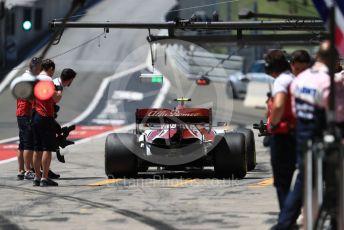 World © Octane Photographic Ltd. Formula 1 – Austrian GP - Practice 3. Alfa Romeo Racing C38 – Antonio Giovinazzi. Red Bull Ring, Spielberg, Styria, Austria. Saturday 29th June 2019.