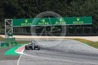 World © Octane Photographic Ltd. Formula 1 – Austrian GP - Qualifying. Mercedes AMG Petronas Motorsport AMG F1 W10 EQ Power+ - Lewis Hamilton. Red Bull Ring, Spielberg, Styria, Austria. Saturday 29th June 2019.