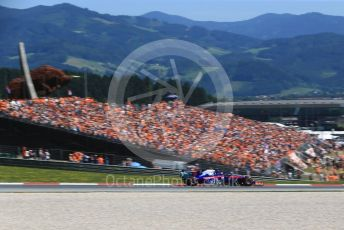 World © Octane Photographic Ltd. Formula 1 – Austrian GP - Qualifying. Scuderia Toro Rosso STR14 – Alexander Albon. Red Bull Ring, Spielberg, Styria, Austria. Saturday 29th June 2019.