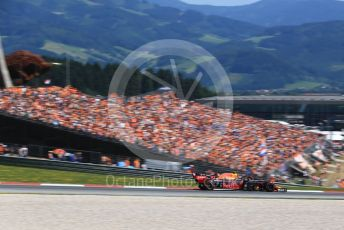 World © Octane Photographic Ltd. Formula 1 – Austrian GP - Qualifying. Aston Martin Red Bull Racing RB15 – Pierre Gasly. Red Bull Ring, Spielberg, Styria, Austria. Saturday 29th June 2019.