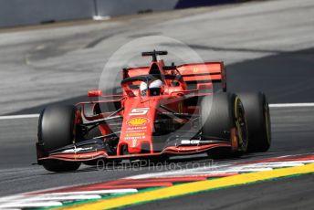 World © Octane Photographic Ltd. Formula 1 – Austrian GP - Practice 1. Scuderia Ferrari SF90 – Sebastian Vettel. Red Bull Ring, Spielberg, Styria, Austria. Friday 28th June 2019.