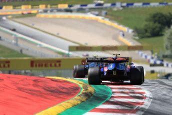 World © Octane Photographic Ltd. Formula 1 – Austrian GP - Race. Scuderia Toro Rosso STR14 – Alexander Albon. Red Bull Ring, Spielberg, Styria, Austria. Sunday 30th June 2019
