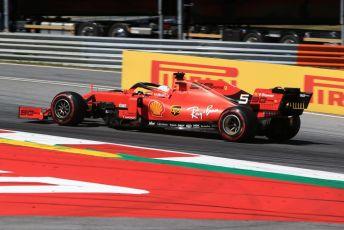 World © Octane Photographic Ltd. Formula 1 – Austrian GP - Race. Scuderia Ferrari SF90 – Sebastian Vettel. Red Bull Ring, Spielberg, Styria, Austria. Sunday 30th June 2019