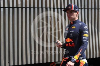 World © Octane Photographic Ltd. Formula 1 – Austrian GP - Paddock. Aston Martin Red Bull Racing RB15 – Max Verstappen. Red Bull Ring, Spielberg, Styria, Austria. Thursday 27th June 2019.