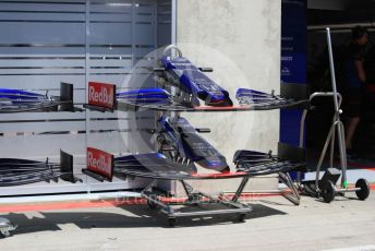 World © Octane Photographic Ltd. Formula 1 – Austrian GP - Pit Lane. Scuderia Toro Rosso STR14. Red Bull Ring, Spielberg, Styria, Austria. Thursday 27th June 2019.