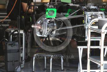 World © Octane Photographic Ltd. Formula 1 – Austrian GP - Pit Lane. Rich Energy Haas F1 Team VF19. Red Bull Ring, Spielberg, Styria, Austria. Thursday 27th June 2019.