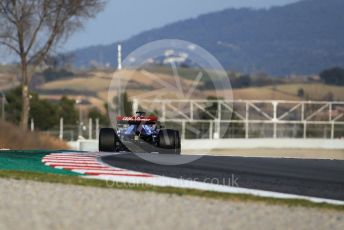 World © Octane Photographic Ltd. Formula 1 – Winter Testing - Test 1 - Day 1. Alfa Romeo F1 Team C38 – Kimi Raikkonen. Circuit de Barcelona-Catalunya. Monday 18th February 2019.