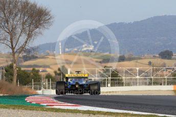World © Octane Photographic Ltd. Formula 1 – Winter Testing - Test 1 - Day 1. Renault Sport F1 Team RS1 – Daniel Ricciardo. Circuit de Barcelona-Catalunya. Monday 18th February 2019.