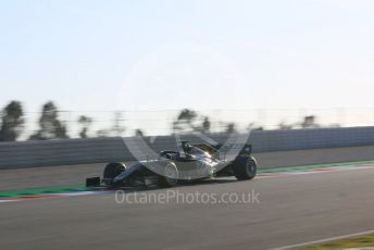 World © Octane Photographic Ltd. Formula 1 – Winter Testing - Test 1 - Day 1. Rich Energy Haas F1 Team VF19 – Romain Grosjean. Circuit de Barcelona-Catalunya. Monday 18th February 2019.