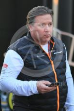World © Octane Photographic Ltd. Formula 1 - Winter Testing - Test 1 - Day 1. Zak Brown - Executive Director of McLaren Technology Group.  Circuit de Barcelona-Catalunya. Monday 18th February 2019