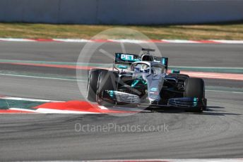 World © Octane Photographic Ltd. Formula 1 – Winter Testing - Test 1 - Day 1. Mercedes AMG Petronas Motorsport AMG F1 W10 EQ Power+ - Valtteri Bottas. Circuit de Barcelona-Catalunya. Monday 18th February 2019.