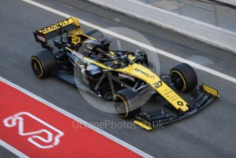 World © Octane Photographic Ltd. Formula 1 – Winter Testing - Test 1 - Day 2. Renault Sport F1 Team RS19 – Nico Hulkenberg. Circuit de Barcelona-Catalunya. Tuesday 19th February 2019.