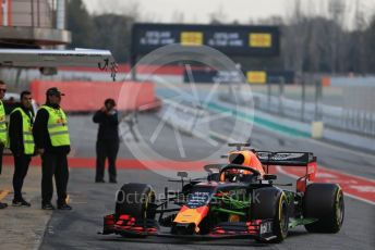 World © Octane Photographic Ltd. Formula 1 – Winter Testing - Test 1 - Day 2. Aston Martin Red Bull Racing RB15 – Pierre Gasly. Circuit de Barcelona-Catalunya. Tuesday 19th February 2019.