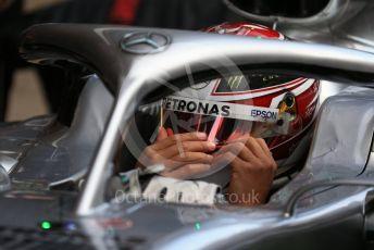 World © Octane Photographic Ltd. Formula 1 – Winter Testing - Test 1 - Day 2. Mercedes AMG Petronas Motorsport AMG F1 W10 EQ Power+ - Lewis Hamilton. Circuit de Barcelona-Catalunya. Tuesday 19th February 2019.