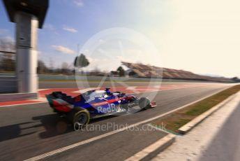 World © Octane Photographic Ltd. Formula 1 – Winter Testing - Test 1 - Day 2. Scuderia Toro Rosso STR14 – Alexander Albon. Circuit de Barcelona-Catalunya. Tuesday 19th February 2019.
