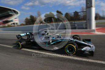World © Octane Photographic Ltd. Formula 1 – Winter Testing - Test 1 - Day 2. Mercedes AMG Petronas Motorsport AMG F1 W10 EQ Power+ - Valtteri Bottas. Circuit de Barcelona-Catalunya. Tuesday 19th February 2019